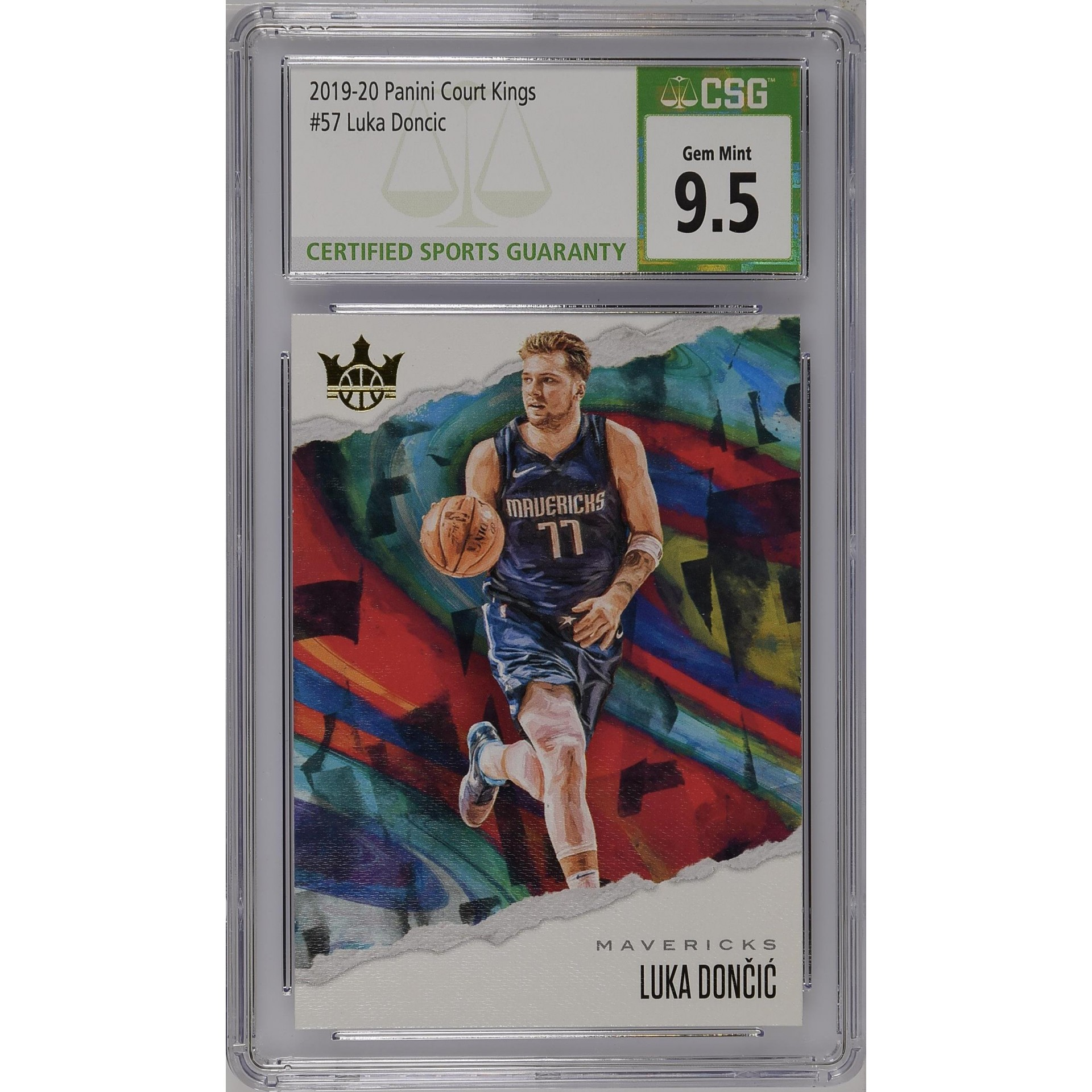 2019-20 Court Kings #57 Luka Doncic - CSG 9.5