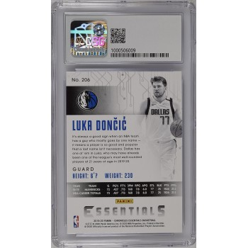2019-20 Chronicles Essentials #206 Luka Doncic - CSG 9
